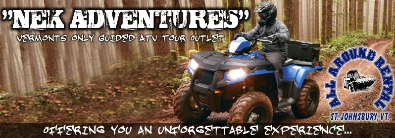 NEK Adventures ATV Tour Banner